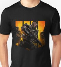 Black Ops 4 - Logo and Soldiers Unisex T-Shirt