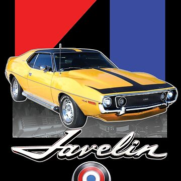 AMC Javelin Sticker American Motors Javelin AMX Sticker by darkvortex