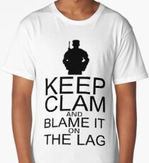 Keep Calm and Blame It On The Lag Long T-Shirt