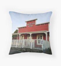 Bodega Post Office Throw Pillow