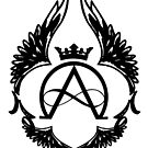 The Aeon Chronicles B/W Emblem by AprilMWoodard