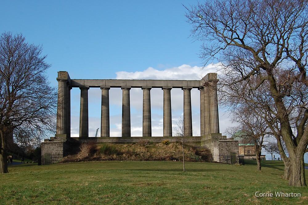 Scotland Ruin by Corrie Wharton