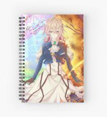 Violet evergarden Notebook Spiral Notebook