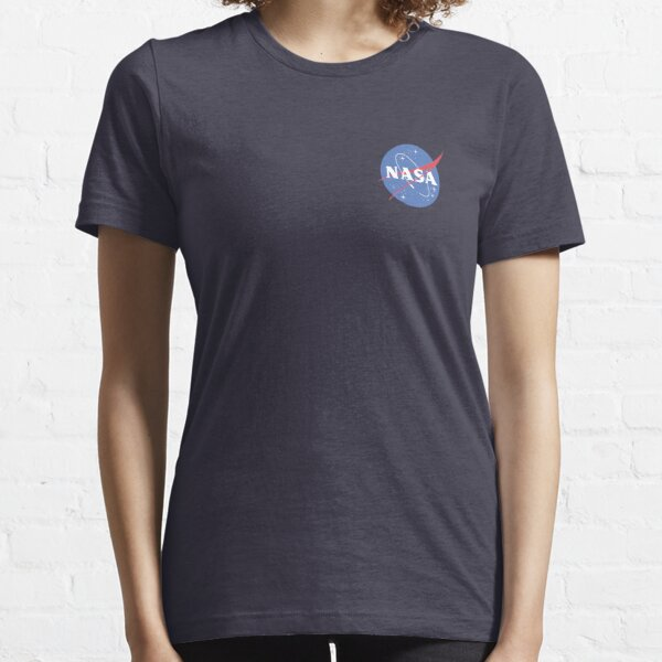 Original Nasa Logo Small - Cute Space Center Breast Essential T-Shirt