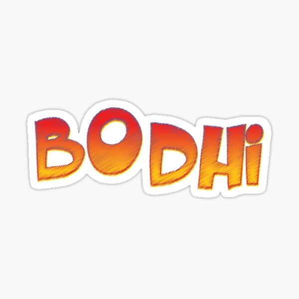 Bodhi Sticker