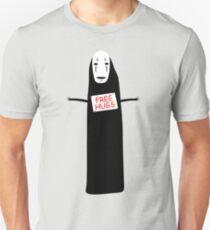 Free Hugs No Face T-Shirt