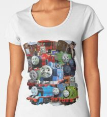 Thomas the Tank Engine and Friends Classic Design Women's Premium T-Shirt