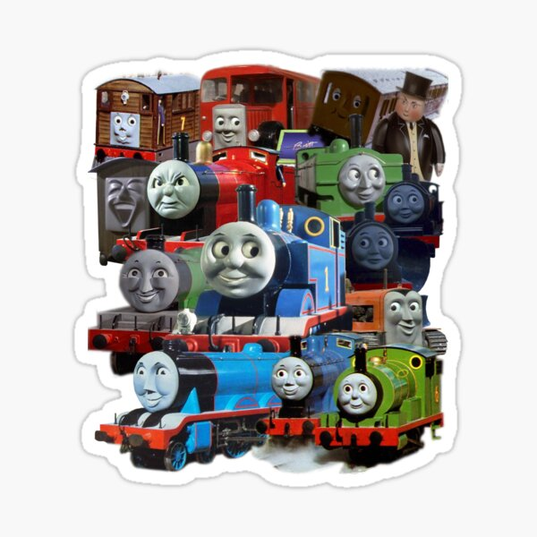 Thomas the Tank Engine and Friends Classic Design Sticker