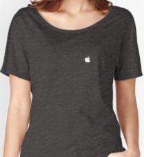 Apple logo Women's Relaxed Fit T-Shirt