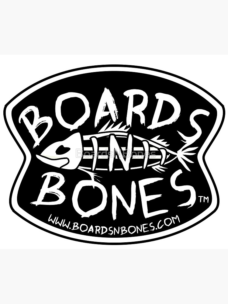 BoardsNBones - Black Logo by BoardsNBones