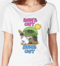 Sun's Out Buns Out Women's Relaxed Fit T-Shirt