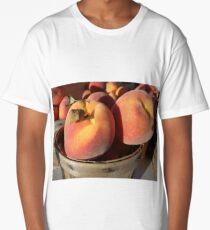 Just Peachy Farm Market Peaches Long T-Shirt