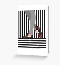Tap Dance Tap Shoes Greeting Card