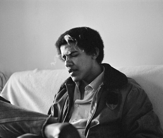 Young Obama  by lindasandor