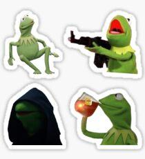 Kermit Meme Set Sticker