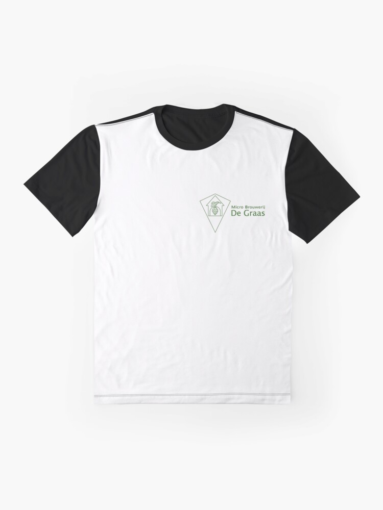 Alternate view of Micro Brouwerij De Graas Graphic T-Shirt