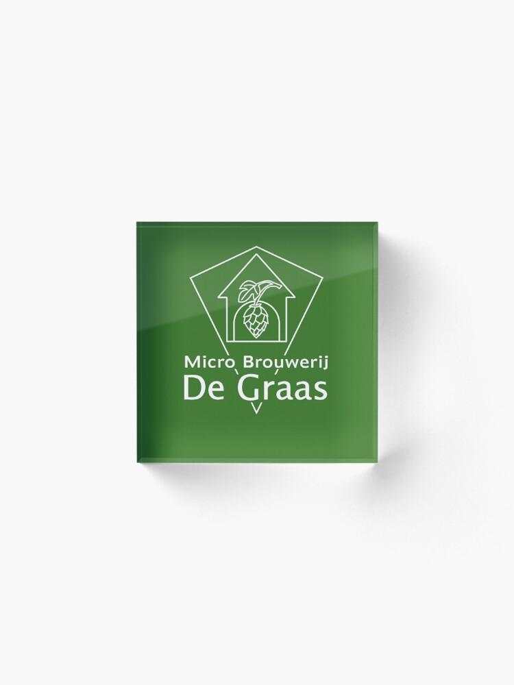 Alternate view of Micro Brouwerij De Graas Acrylic Block