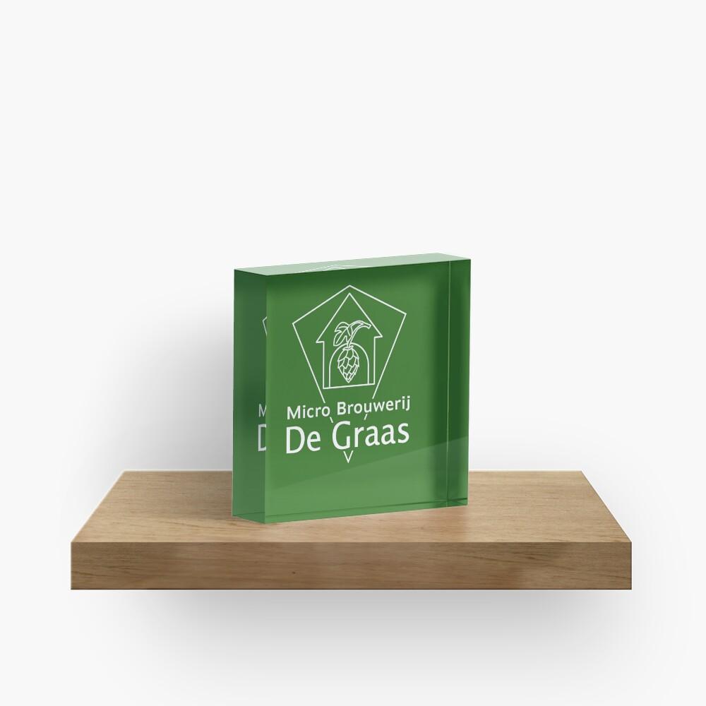 Micro Brouwerij De Graas Acrylic Block