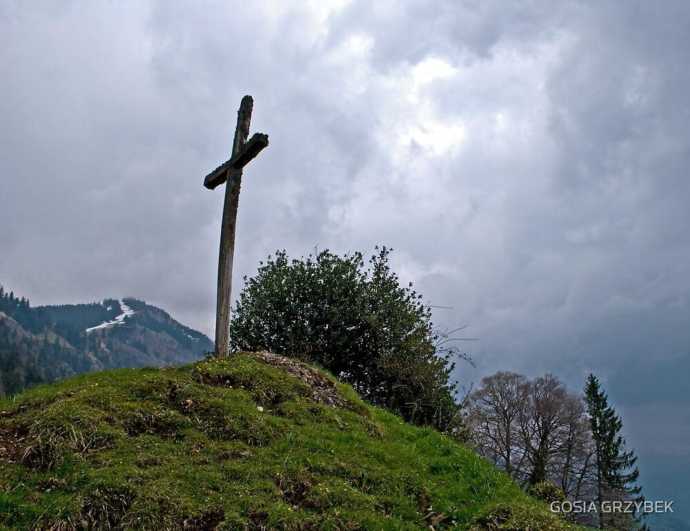 Old Cross by GOSIA GRZYBEK