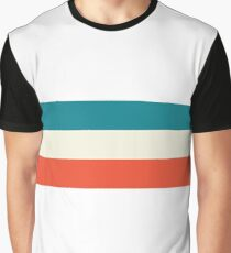 Vintage Patriotic Stripe Graphic T-Shirt