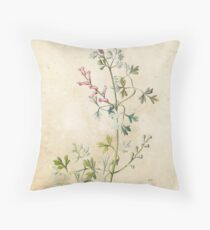 Fumitory Throw Pillow