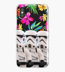 Lego Storm Troopers in Paradise iPhone Case