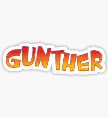 Gunther Sticker