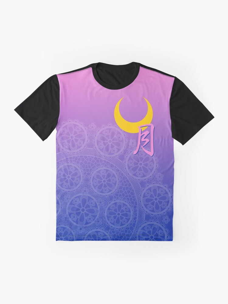 Alternate view of The Moon Collection Graphic T-Shirt
