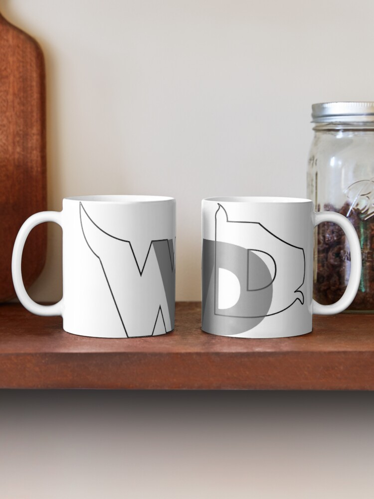 Alternate view of WWDD? logo Mug