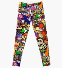 Paper Mario Collection 2 Leggings