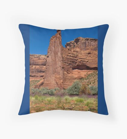 Eagle Rock ~ Standing Tall In The Canyon Throw Pillow