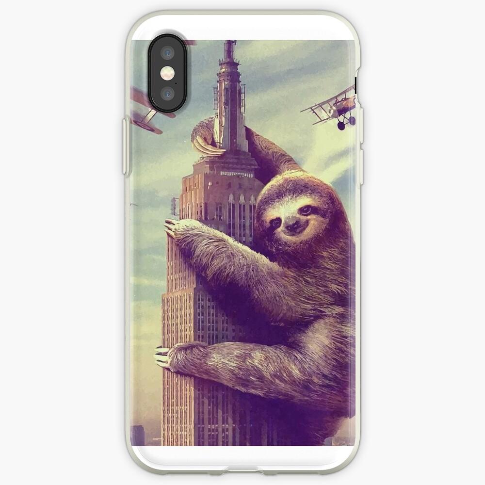 Trägheit, die das Empire State Building klettert iPhone-Hülle & Cover
