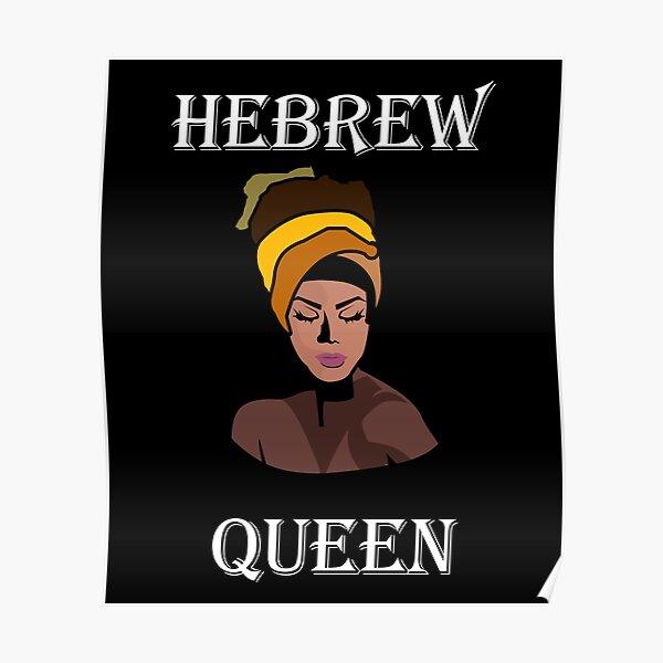 Hebrew Queen  Poster