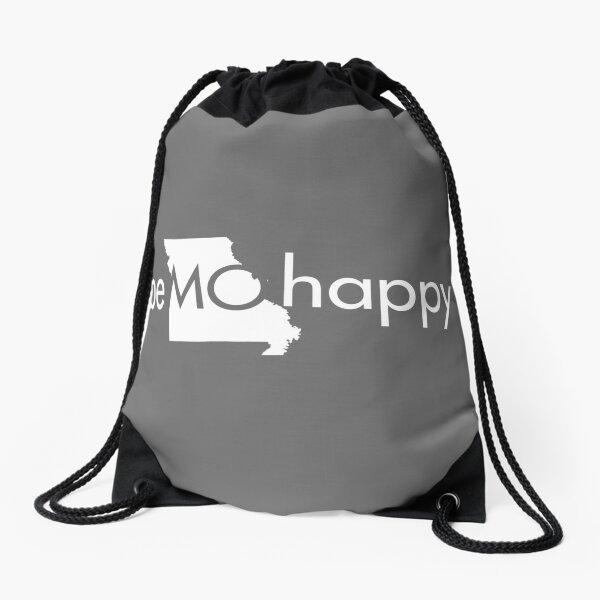be MO happy Drawstring Bag