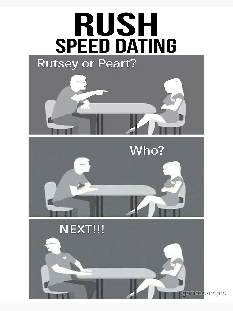 Rush: Speed Dating 1 - Anchor Link