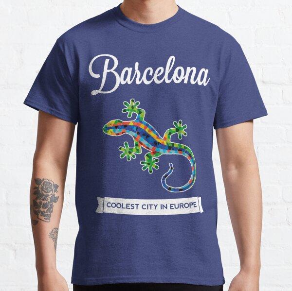 BARCELONA GAUDI LIZARD (Dark Colors) Classic T-Shirt