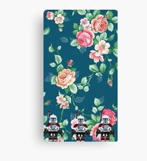 Floral Lego Star Wars Arc Troopers Canvas Print