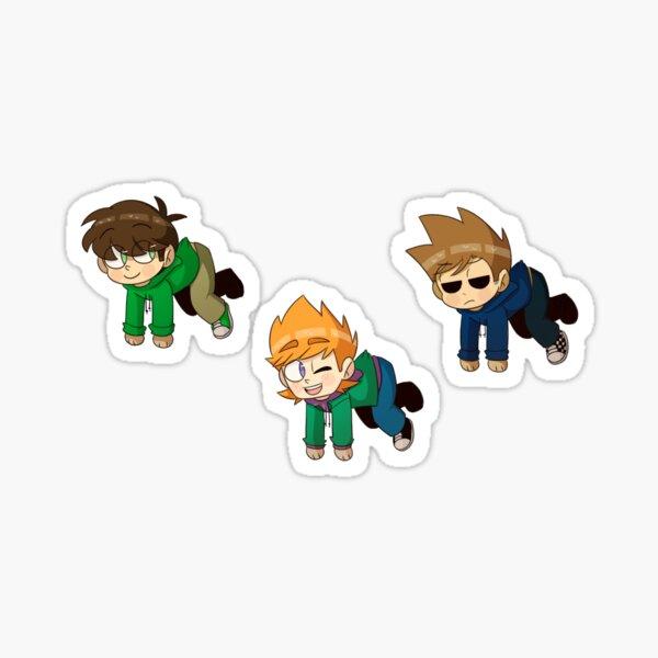 eddsworld boys (main ver) Sticker