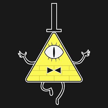 Bill Cipher - Gravity Falls by KipItSimple
