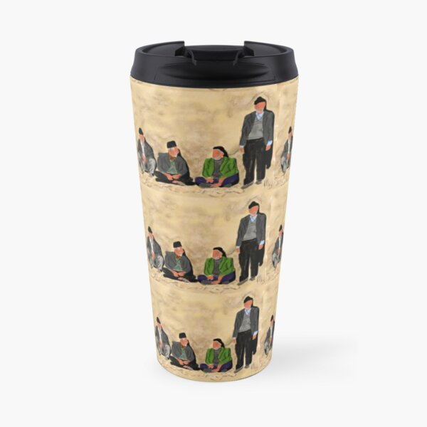 Old Friends in Iran  Travel Mug