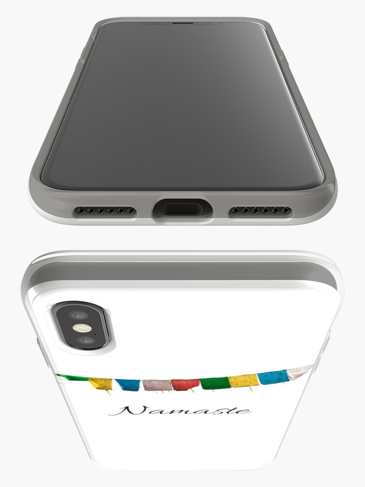 Alternate view of Namaste to you iPhone Case & Cover