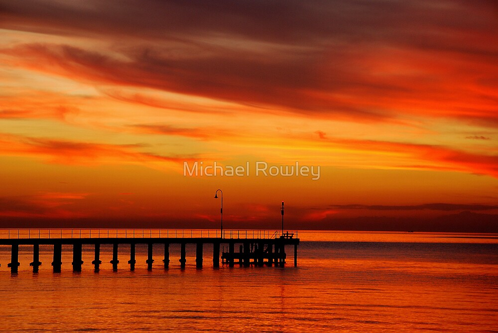 Blushing by Michael Rowley