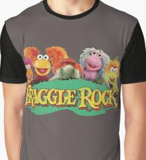 Fraggle Rock Fraggles 80s Muppets Cartoon Graphic T-Shirt