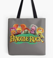 Fraggle Rock Fraggles 80s Muppets Cartoon Tote Bag