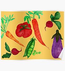 Mixed Vegetables  Poster