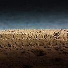 Sand vs. Ocean by Rukshan Fernando