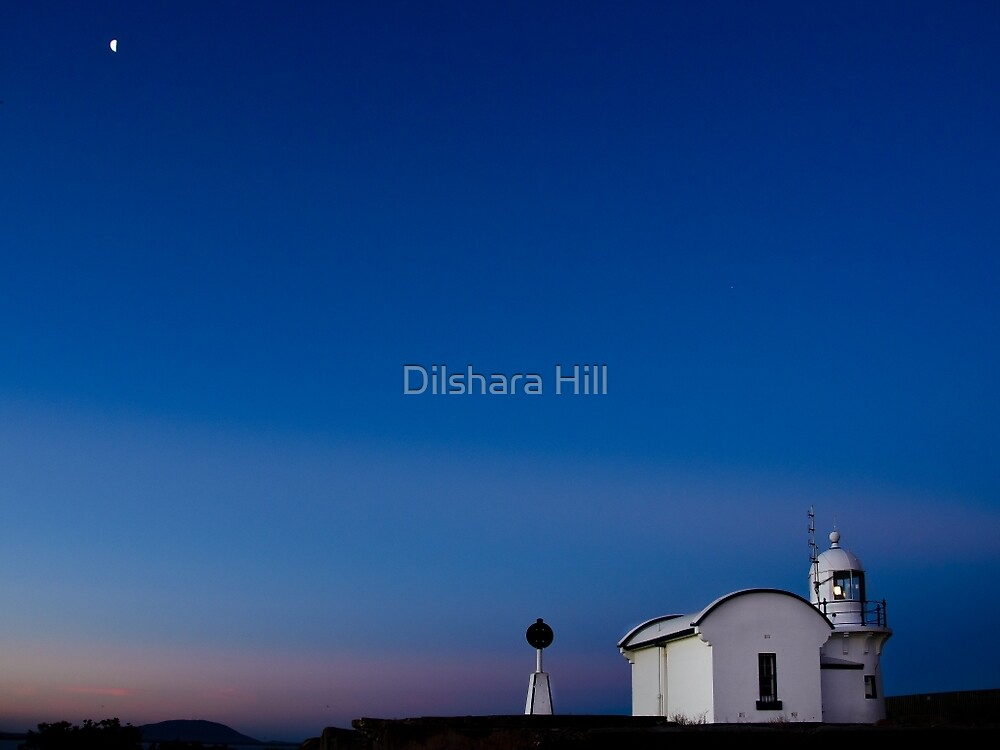 Moonlight over Crowdy Head by Dilshara Hill