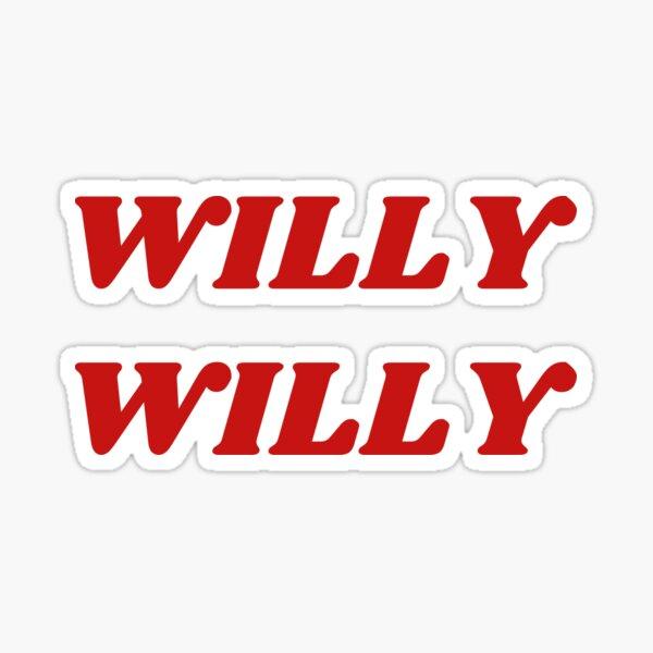 Brockhampton-Willy Willy Sticker
