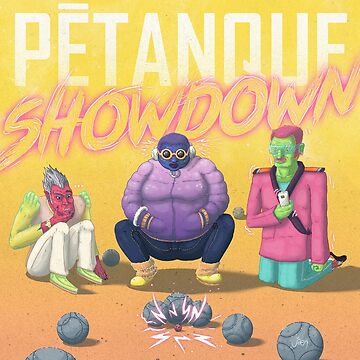 Pétanque Showdown by artjaen