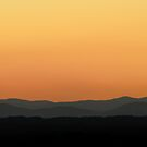 Sunset over the Hills by Dilshara Hill